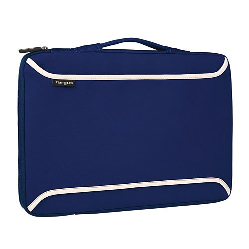 Targus 10bis 30,7cm Netbook Ultraportable Haut mit Griff–Blau/cremefarben