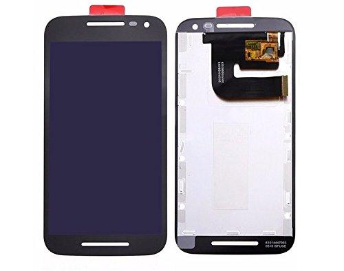 Handyteile24 ✅ Motorola Moto G3 XT1540 XT1541 LCD Display Bildschirm Anzeige Digitizer Touch Glas Touchscreen Schwarz