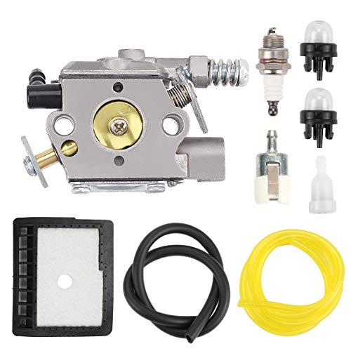 Hilom WT-589 Carburetor with Repower Kit for Echo Chainsaw CS-300 CS-301 CS-305 CS-306 CS-340 CS-341 CS-345 CS-346 Chainsaws A021000231 A021000232 A021000760