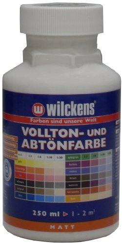 Wilckens Vollton- und Abtönfarbe 250ml / matt / weiss