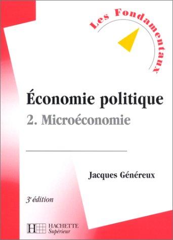 Economie politique, tome 2