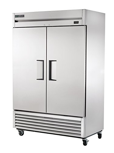 """True T-49-HC Reach-in Solid Swing Door Refrigerator with Hydrocarbon Refrigerant, Holds 33 Degree F to 38 Degree F, 78.625"""" Height, 29.875"""" Width, 54.125"""" Length"""