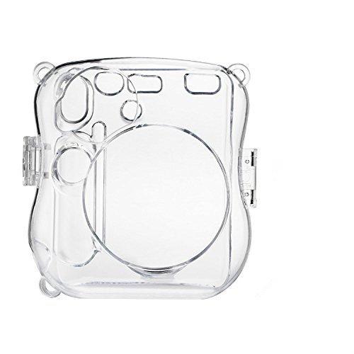 Gotor® チェキ instax mini 25 インスタントカメラ 対応 専用速写 プロテクトカバー・クリスタルケース