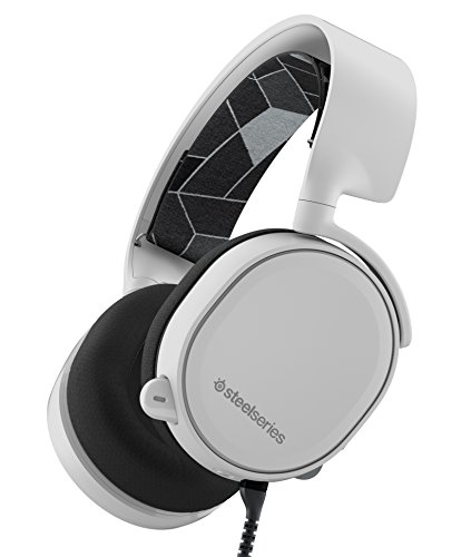 SteelSeries Arctis 3 All-Platform Gaming Headset - White (Discontinued by Manufacturer)