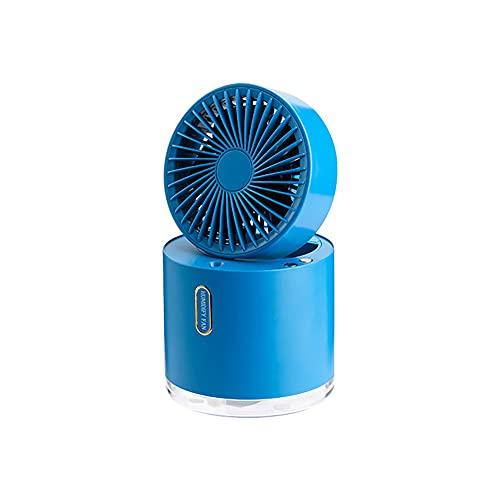 Pequeño Humidificador Plegable Portátil, Humidificador De Sobremesa Resistente Y Duradero Refrescante Color De Verano A Juego Gran Cantidad De Niebla USB Carga Conveniente, Azul