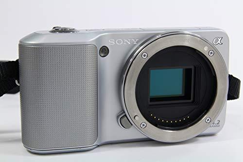 Sony NEX3 silber Systemkamera (14 Megapixel, Live View, HD Videoaufnahme NEX-3) Gehäuse