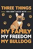 Cuaderno: Bulldog, Bulldog Francés, Bulldog Inglés, Bulldog Americano,: 120 páginas alineadas: cuaderno, cuaderno de bocetos, diario, para hacer la lista, reservar, planificar, organizar y nota.