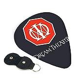 Dream Theater ギターピック 3種類の厚さ 6枚セット 初心者用 それぞれ厚さ ピック ウクレレ 音楽ギフト ケース付き