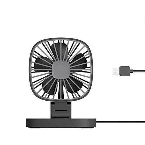 CAISHENY Ventilador De Mano Ventilador De Coche De Guía Ventiladores Pequeños De USB Coche De 12 Voltios Coche De Camioneta Grande De 24 V Refrigerador De Coche (11.3 * 9.1 * 14.6 Cm)