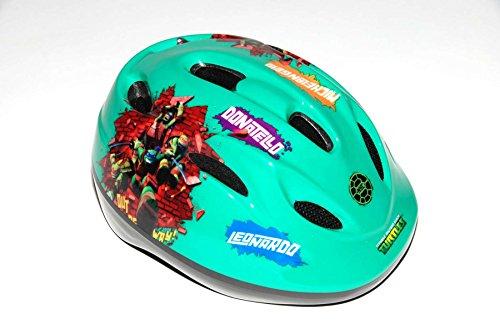 Teenage Murtant Ninja Turtles Kinder Fahrradhelm Deluxe türkis g