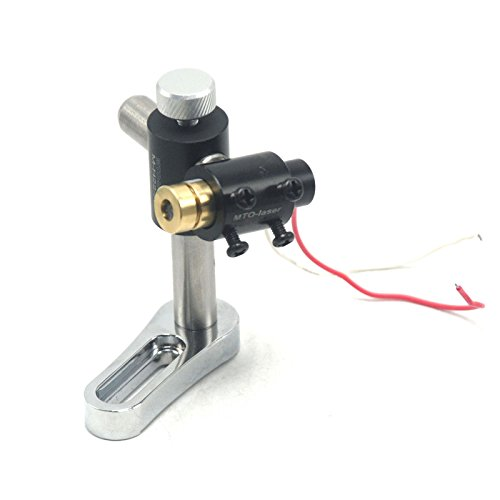 16mm Two-axis Adjustable Laser Module/Torch Holder/Clamp/Moun with 650nm-50 3-5VDC Red Laser Dot Module 14x45