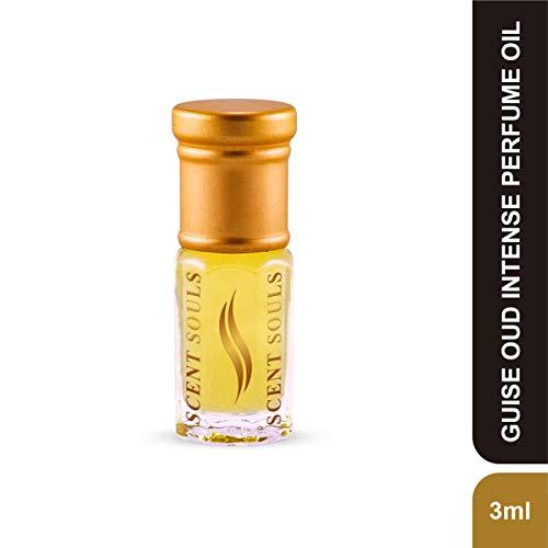 Scent Souls Guise Oud Intense Long Lasting Attar Fragrance Perfume Oil For Men & Women- 3 ml