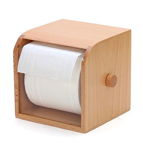 Boîtes De Papier De Bureau De Serviette Rouleaux De Salon De Boîtes De Papier De Style Européen - Rouleaux De Papier Créatifs Creative Roll Boîtes De Papier En Bois (couleur : Without Rod)