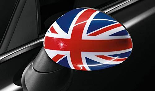 Mini Original Außenspiegel-Kappen Blenden Union Jack R55 R56 R57 R58 R59 R60 - mit Anklappfunktion