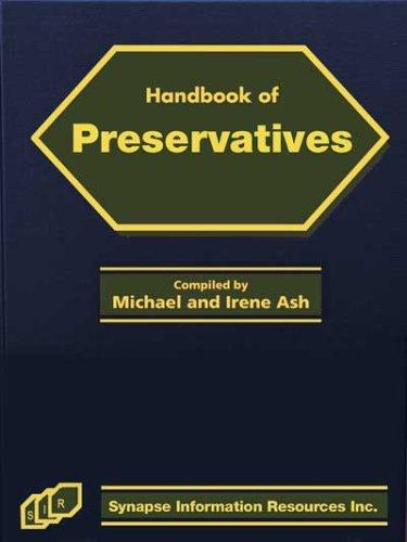 Handbook of Preservatives