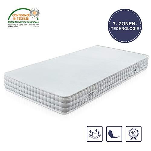 BedStory Orthopädische 7-Zonen Kaltschaum Matratze, Premium...