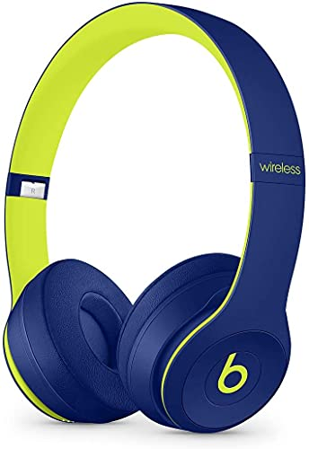 Beats by Dr. Dre - Beats Solo3 Wireless On-Ear Headphones - Beats Pop Collection - (Pop Indigo) (Renewed)