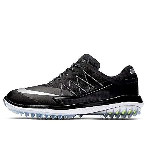 Nike Damen Lunar Control Vapor Golfschuhe, Schwarz (Black/Metallic Silver/White), 38.5 EU