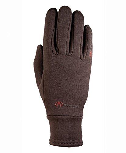 Roeckl handschoenen Allrounder Casa. Hoge, Polartech stretch. dames. Mocca.