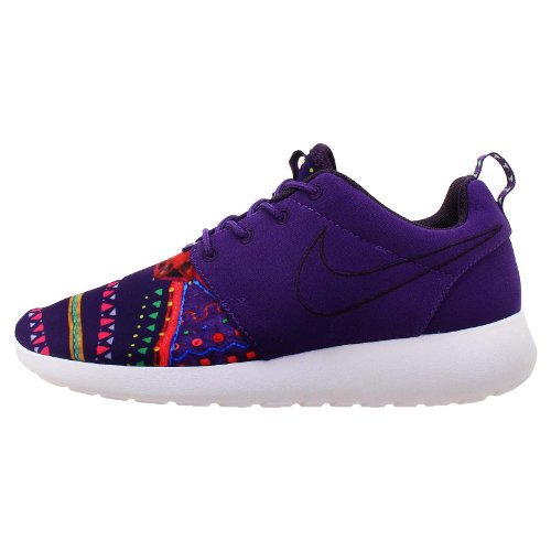 Nike Roshe Run MP QS Zapatillas de deporte para mujer Court Púrpura/Dinastía Púrpura/Blanco 652875-500, morado (Púrpura/Ombre Force.), 36 EU