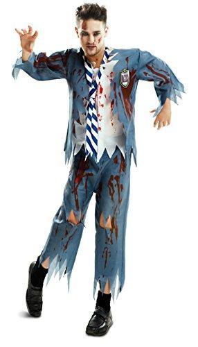 My Other Me Me-202545 Disfraz de estudiante zombie chico para hombre, S (Viving Costumes 202545)