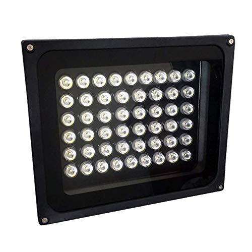 Luz de inundación de 50W LED luz de seguridad al aire libre, 4000LM 3000K blanco cálido, IP66 impermeable LED luz de calle, belleza coche pulido trampa, garaje, patio, WarmesWeiß