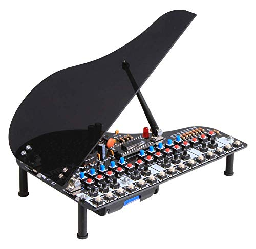 "Arexx CP-01K Das original Klavier ""Classical Piano"", Schwarz, Kein"