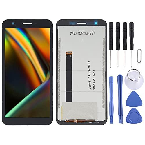 MENGHONGLLI Accesorios de reemplazo de teléfonos celulares Montaje Completo de Pantalla LCD y digitalizador para Blackview BV5100 Pieza de Repuesto de teléfono