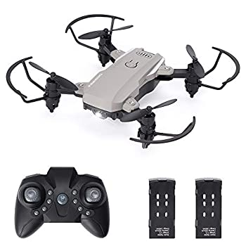 Fergio RC Drone for Kids and Beginners,Mini Drone Small Quadcopter with Speed Adjustment 3D Flip Headless Mode for Boys & Drone Trainer  2 Batteries   Mini Drone