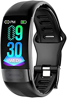 HalfSun Fitness Tracker, Activity Tracker Smart Bracelet with Heart Rate Monitor, Blood Pressure Monitor, Waterproof Smart Watch with Sleep Monitor, Calorie Counter, Pedometer (Black)