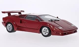 Lamborghini Countach, red, 1998, Model Car, Ready-made, AutoArt 1:18