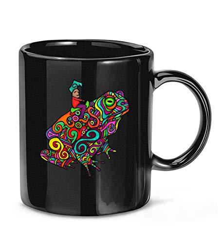 NA GNOME Toad GNOME pschedelic DMT Taza de café clásica Fresca para...