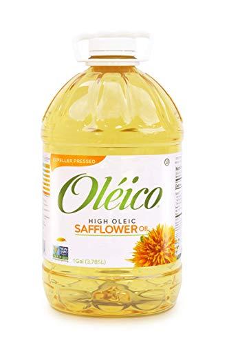 Oléico - High Oleic Safflower Oil 1 Gallon (128 fl. oz.)