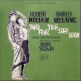 TWO FOR THE SEESAW (ORIGINAL SOUNDTRACK LP VINYL, 1962)