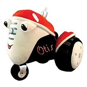 MerryMakers Otis the Tractor Plush Toy, 7-Inch - 41NJbhzNYzL - MerryMakers Otis the Tractor Plush Toy, 7-Inch