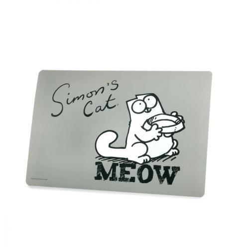 Karlie Simon's Cat Napfunterlage, 43 cm x 28 cm, grau