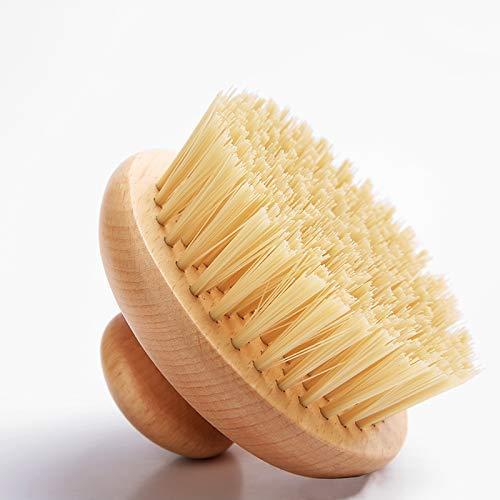Spazzola scrub corpo con setole naturali. Riattiva la circolazione, anticellulite con azione esfoliante, tonifica la pelle, elimina le tossine.