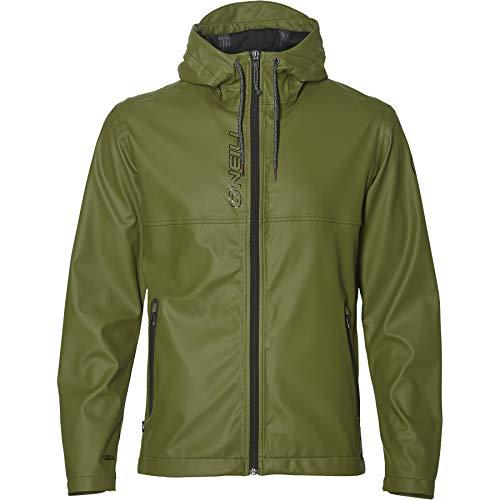 O'Neill Regenjacke Jacke Epic Jacket dunkelgrün wasserabweisend (M)