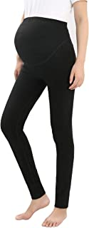 Foucome Maternity Pants Women,Comfy Stretch Pull-on Work Out Leggings Pockets