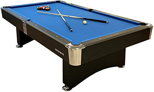 BuckShot Mesa de Billar 9ft Manhattan (282x155cm) - Billar Americano - Pool 9 ft - 150kg - Retorno...