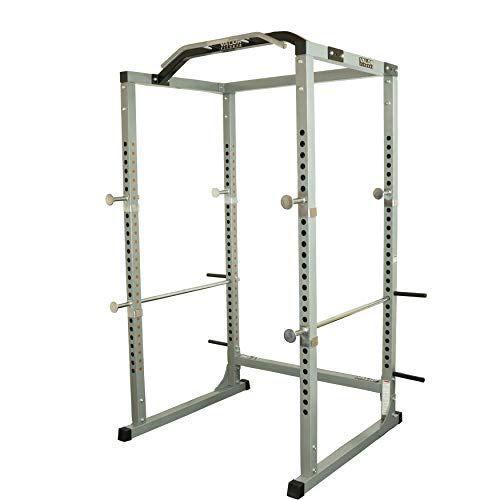 Valor Fitness BD-11 Heavy Duty Power Rack/Squat Rack w/Chrome Pull Up Bar and...