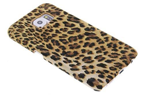 hHülle Samsung Galaxy S6 Hülle – Leopard, Wildkatze, Tiermuster – Hard Hülle Handyhülle