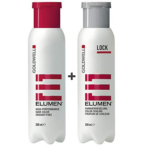 Goldwell Elumen alle Haarfarben 200ml + 250ml Lock - ALLE Farben/Farbtöne (RR@all Rot)