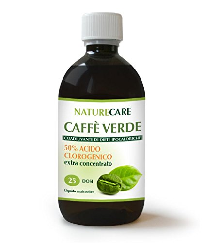 CAFFÈ VERDE NatureCare 500 ml - DIMAGRIRE NATURALMENTE...