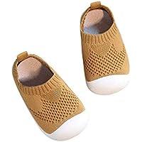 DEBAIJIA Bebé Primeros Pasos Zapatos 1-4 años Niños Zapatos Niños Niñas Infante Suave Suela Antideslizante Malla Transpirable Ligero TPR Material Slip-on Zapatillas Deportivas Outdoor