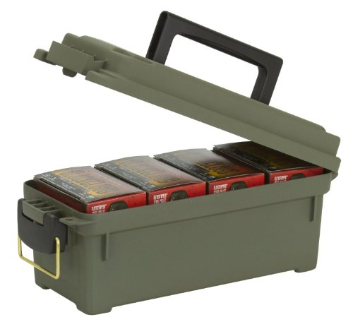 Plano Munitionskiste/Munitionsbox für Schrotpatronen, Militärgrün