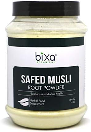 Safed musli Powder – 100g (3.5 Oz) (Chlorophytum Borivillianum) | Best Herb for Vigour & Vitality Improve Physical Strength | Muscle Builder Herbal Supplement