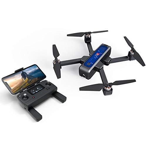 Borstelloze 5G Wifi FPV Drone, GPS Drone Met 2K Camera Voor Volwassenen, Optical Flow OLED Switchable Remote Foldable RC Drone Quadcopter RTF, Groot-Drone Voor Beginners