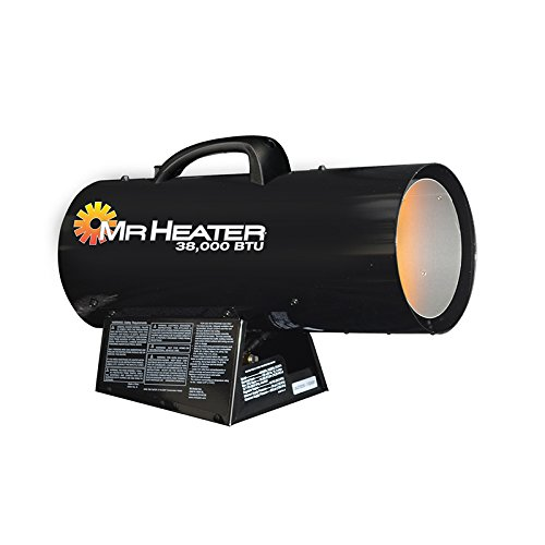 propane forced air heater indoor - 5