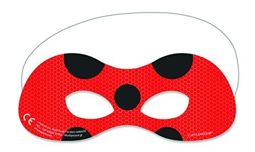 Procoscos® Masken rot schwarz 20056